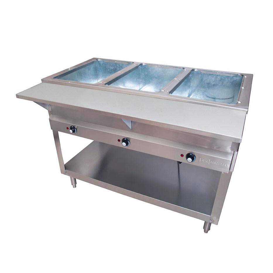 BK Resources STE-3-120 serving counter, hot food, electric