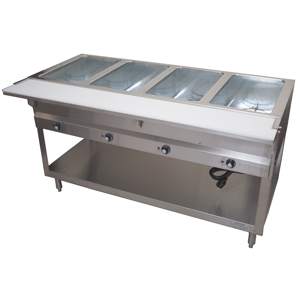BK Resources STE-4-120 serving counter, hot food, electric