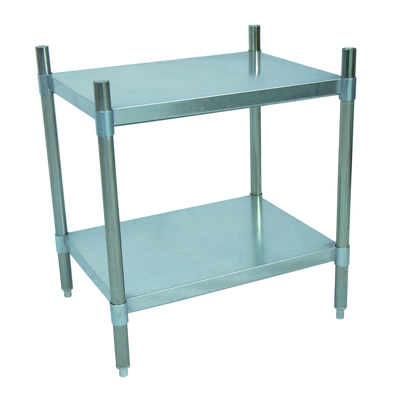 BK Resources VSU3-4324 shelving unit, solid flat