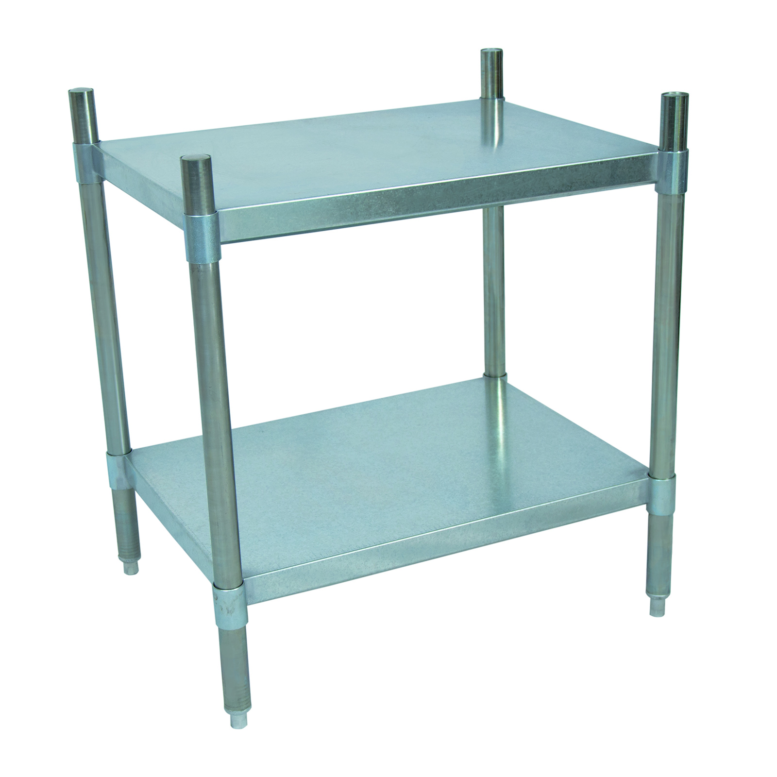 BK Resources VSU3-5524 shelving unit, solid flat