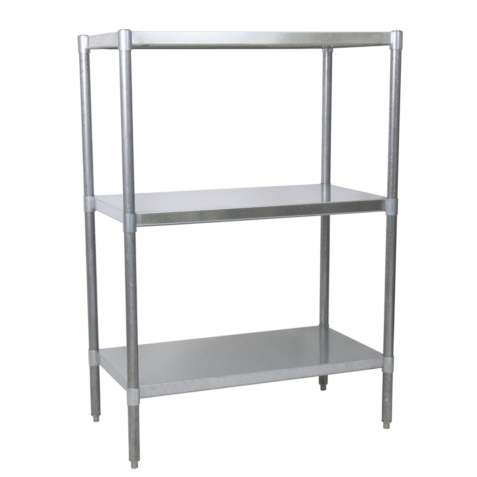 BK Resources VSU5-3124 shelving unit, solid flat
