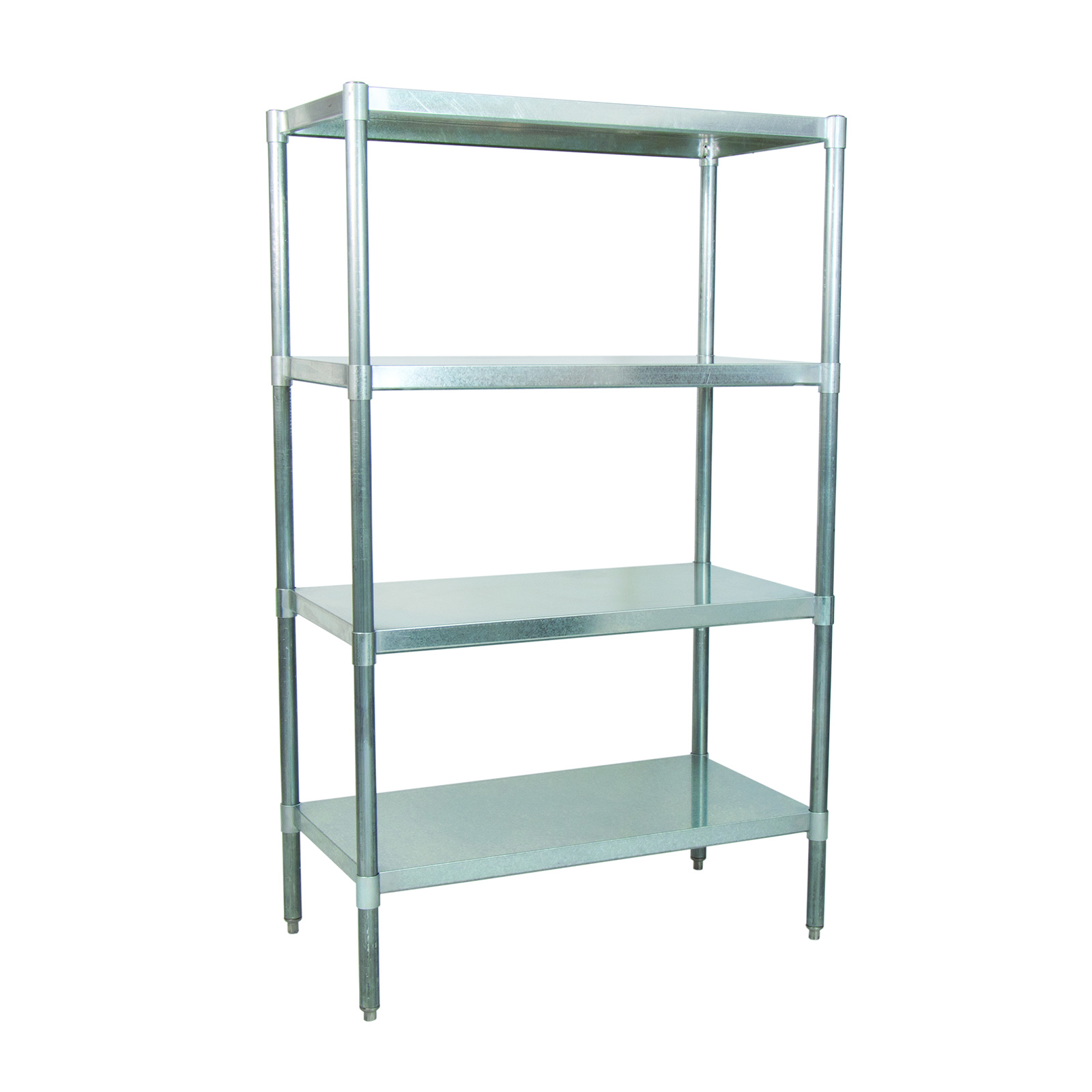 BK Resources VSU6-4324 shelving unit, solid flat