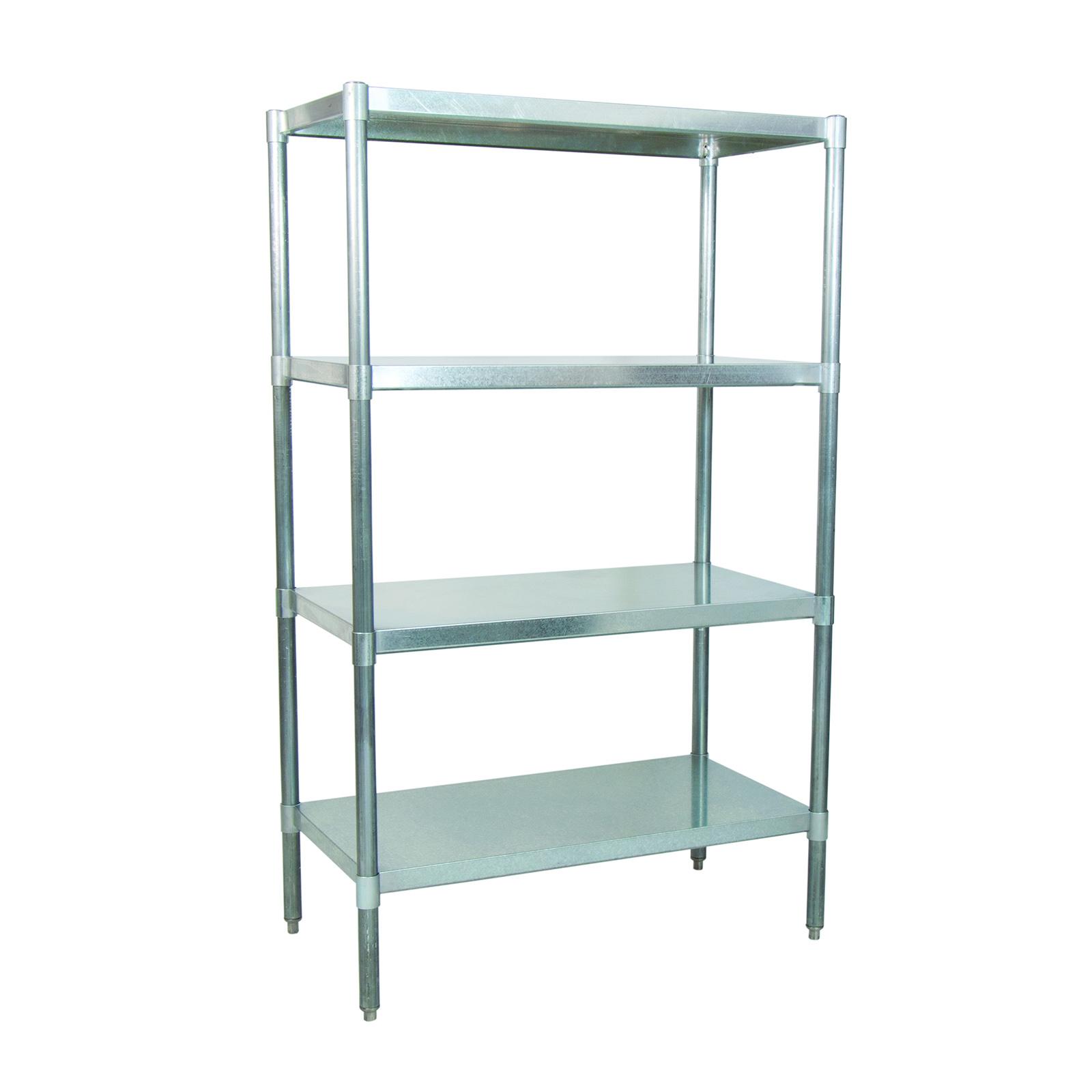 BK Resources VSU6-5524 shelving unit, solid flat