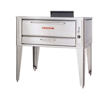 Blodgett 1048 SINGLE pizza bake oven, deck-type, gas