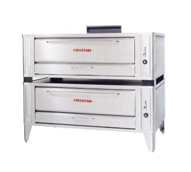 Blodgett 1060 DOUBLE pizza bake oven, deck-type, gas
