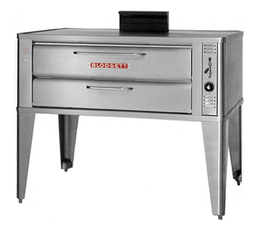 Blodgett 911 SINGLE oven, deck-type, gas