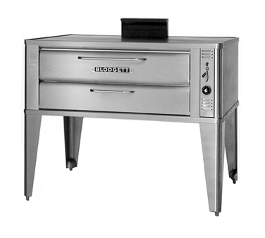 Blodgett 961P SINGLE pizza bake oven, deck-type, gas