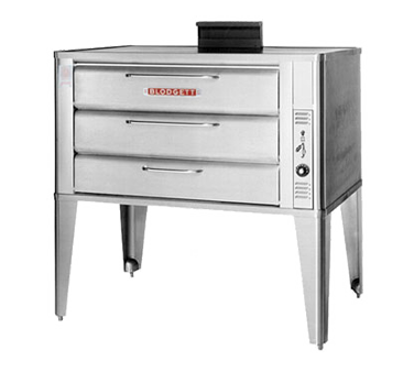Blodgett Oven 981 SINGLE oven, deck-type, gas