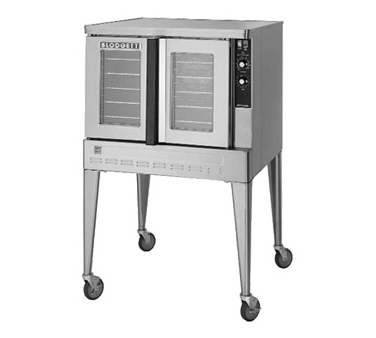 Blodgett ZEPH-100-G SGL convection oven, gas