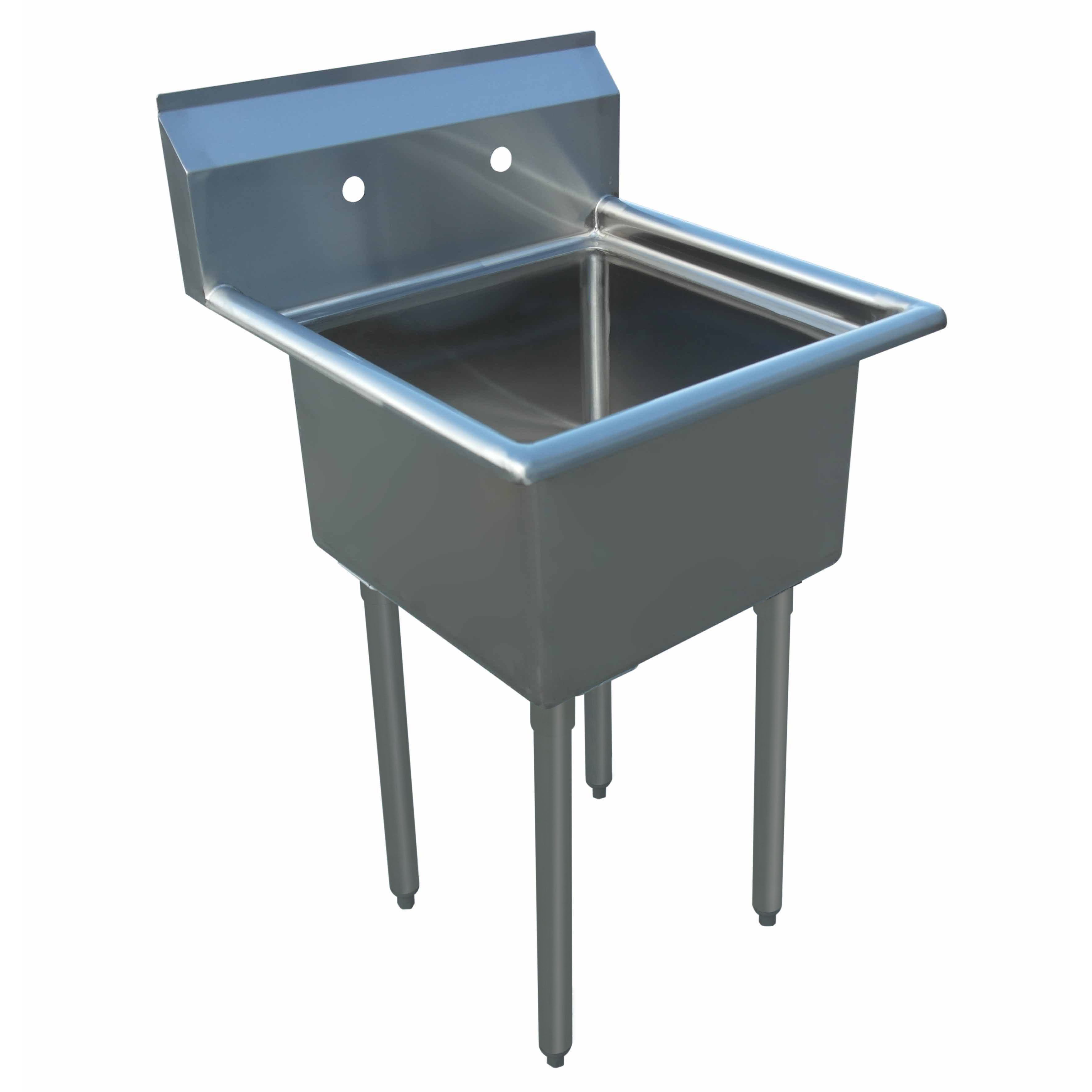 BevLes Company BWS184121 sink, (1) one compartment