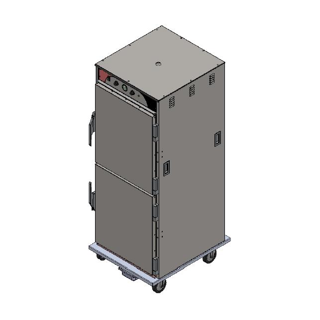 BevLes Company HCSS74W124 proofer cabinet, mobile