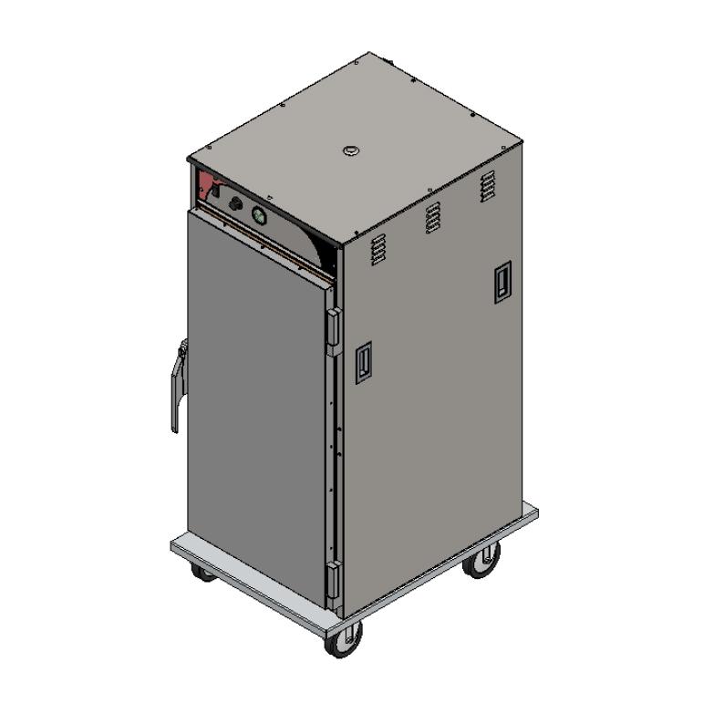 BevLes Company HTSS60P124 proofer cabinet, mobile