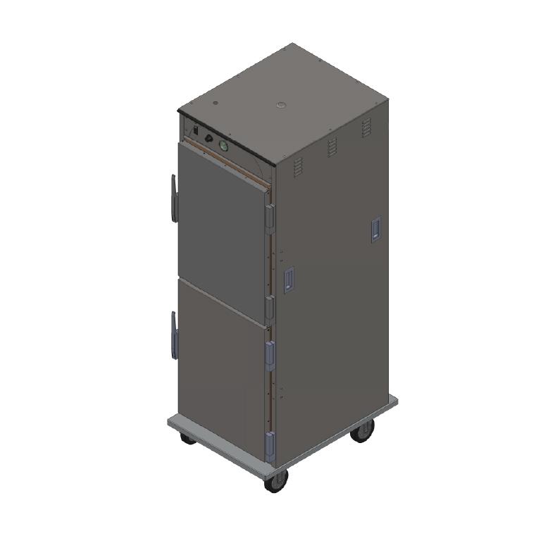BevLes Company HTSS74P164 proofer cabinet, mobile