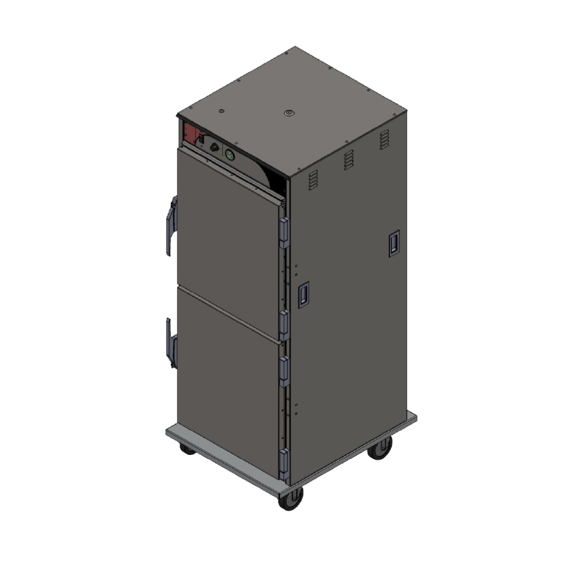 BevLes Company HTSS74W124 proofer cabinet, mobile