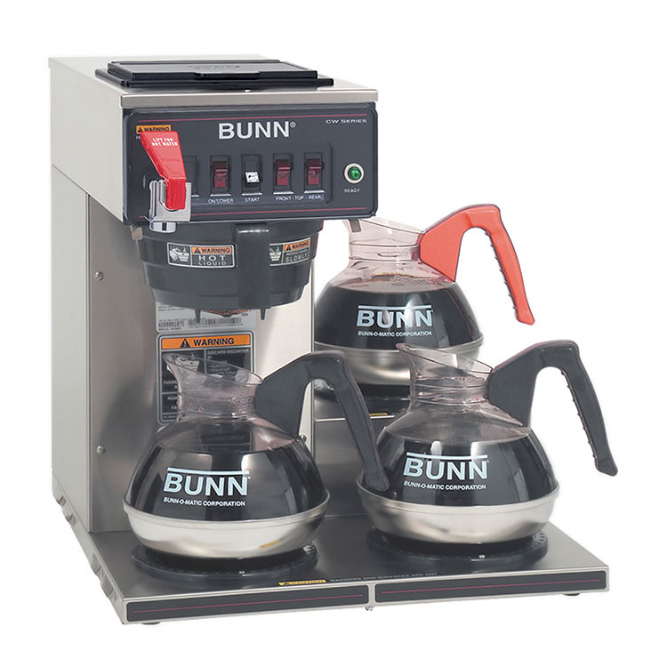 BUNN 12950.0212 coffee brewer for decanters
