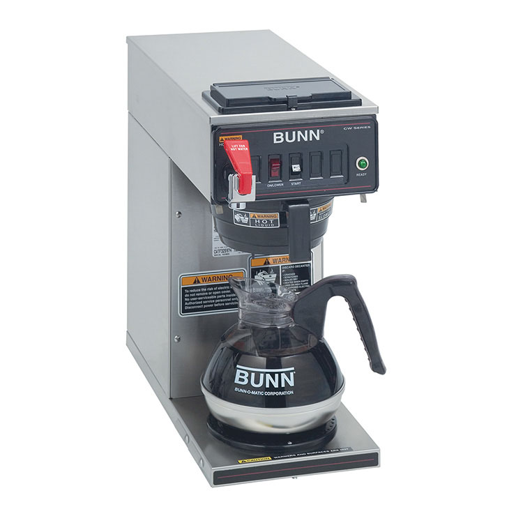 BUNN 12950.0293 coffee brewer for decanters