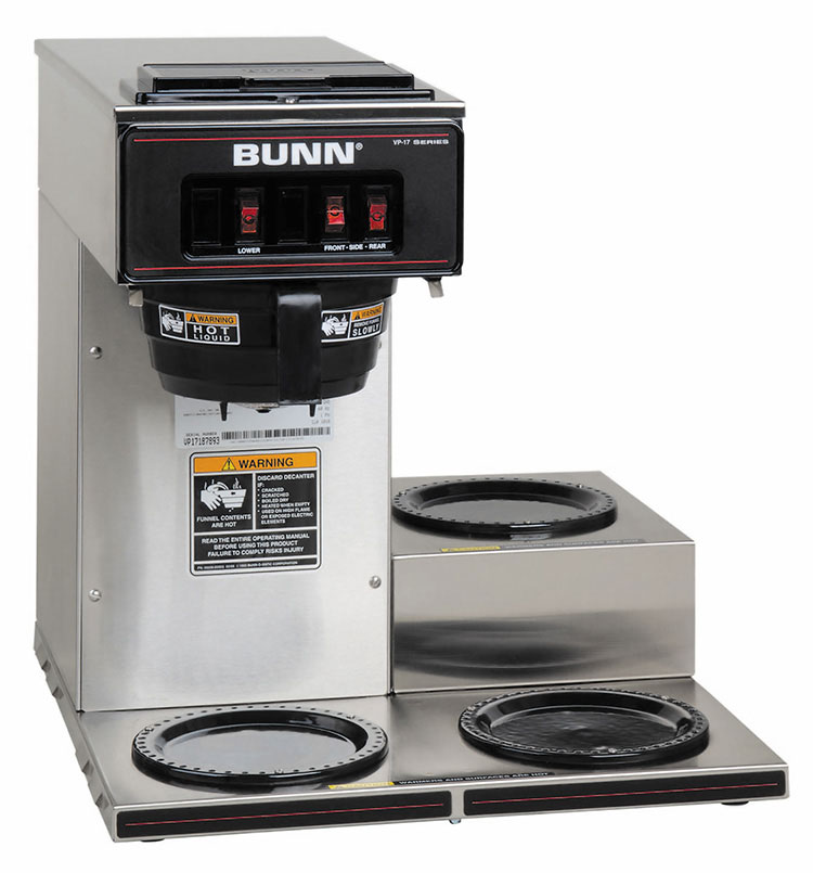 BUNN 13300.0003 coffee brewer for decanters