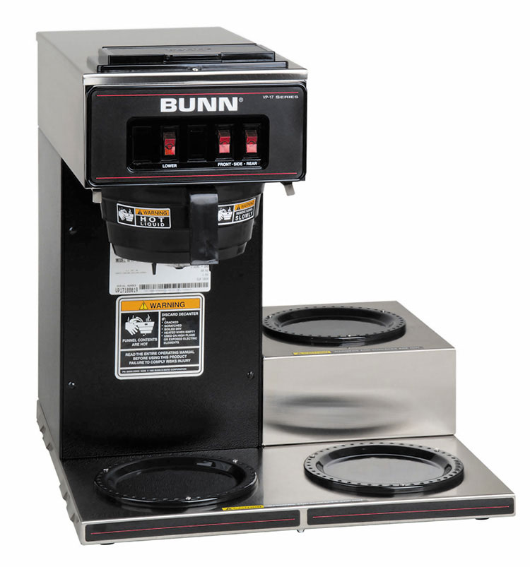 BUNN 13300.0013 coffee brewer for decanters