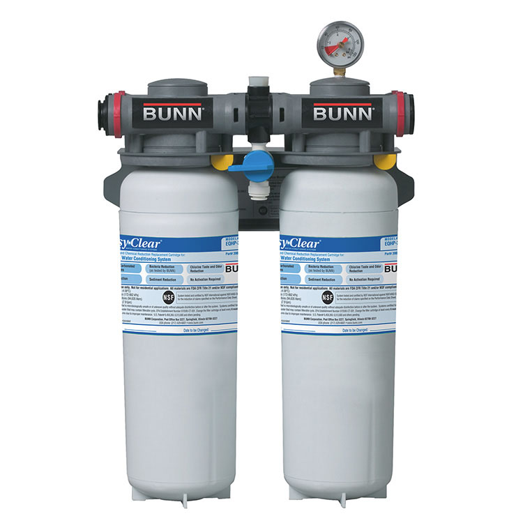 BUNN 39000.0012 water filtration system, for multiple applications