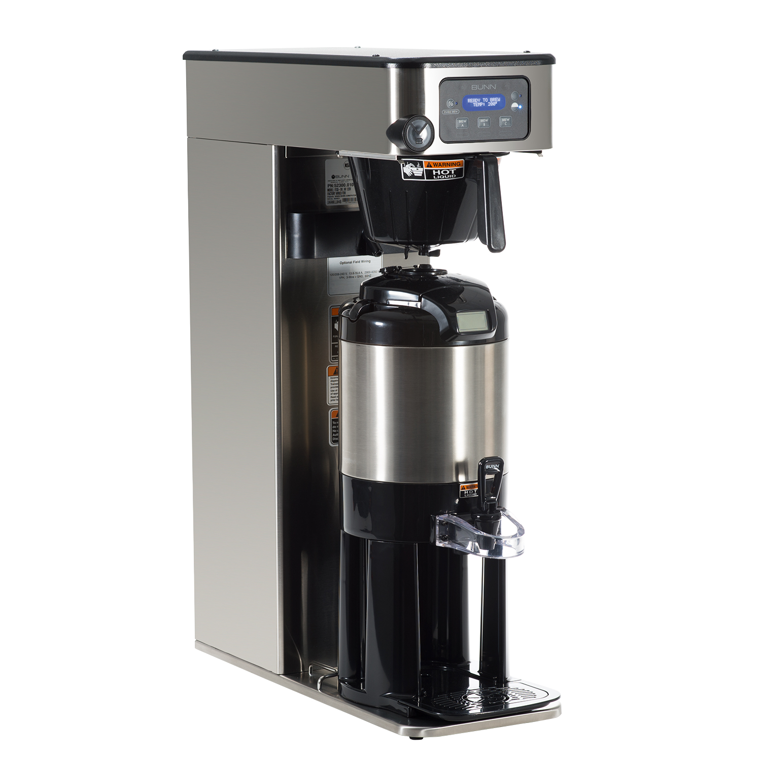 BUNN 52300.0100 coffee tea brewer