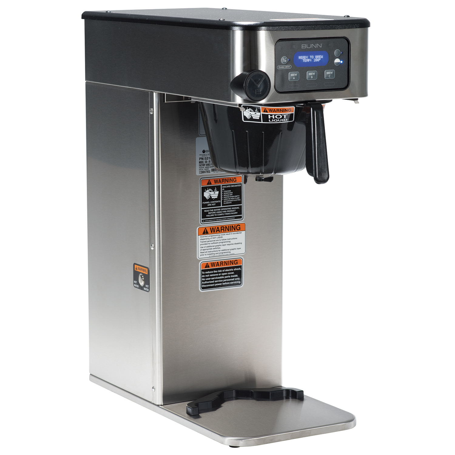 BUNN 53100.0100 coffee brewer for thermal server