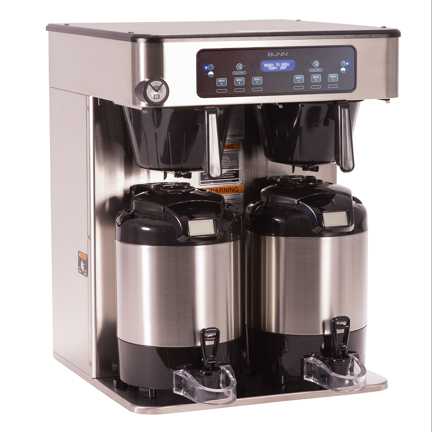 BUNN 53200.0100 coffee brewer for thermal server