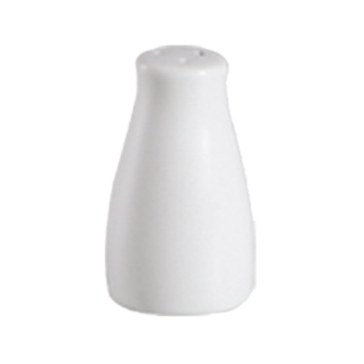 CAC China 101-SS salt / pepper shaker, china