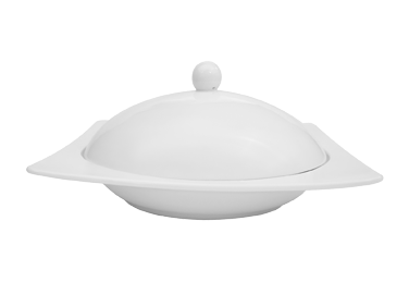 CAC China KSE-220 china, bowl with cover