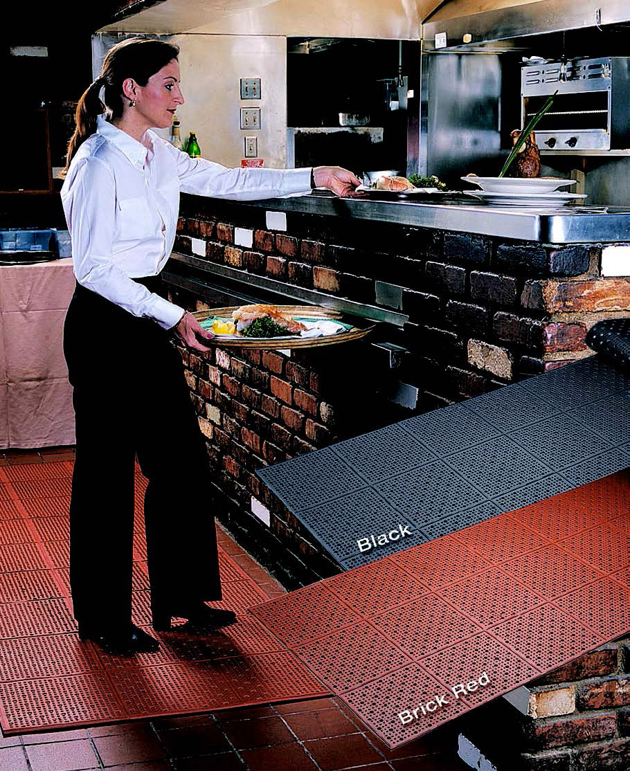 Cactus Mat 1640R-R4 floor mat, anti-fatigue