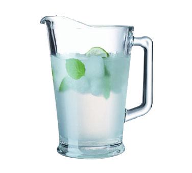Cardinal C0678 pitcher, glass