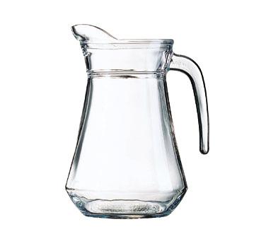 Cardinal E7254 pitcher, glass