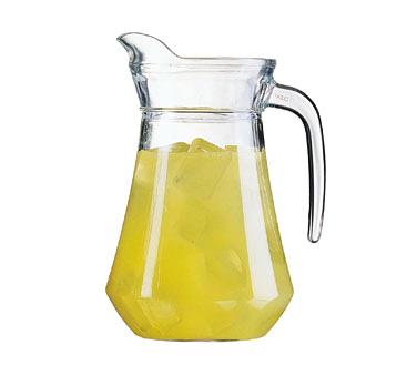 Cardinal E7255 pitcher, glass