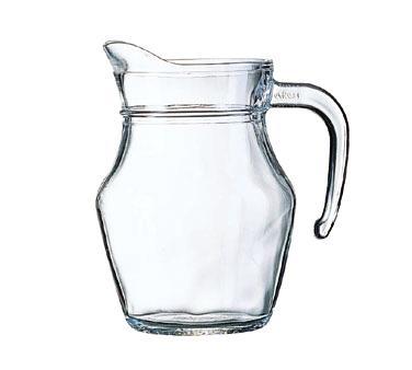 Cardinal E7258 pitcher, glass