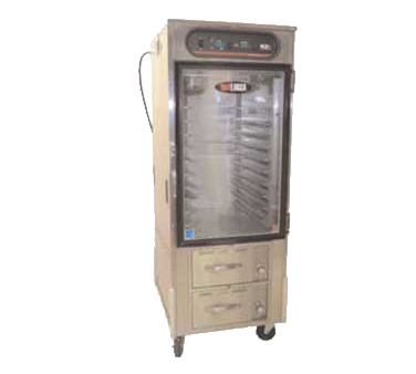 Carter-Hoffmann HL10-10-RW heated cabinet, mobile