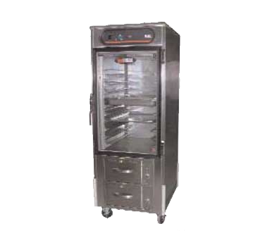 Carter-Hoffmann HL8-10-RW heated cabinet, mobile