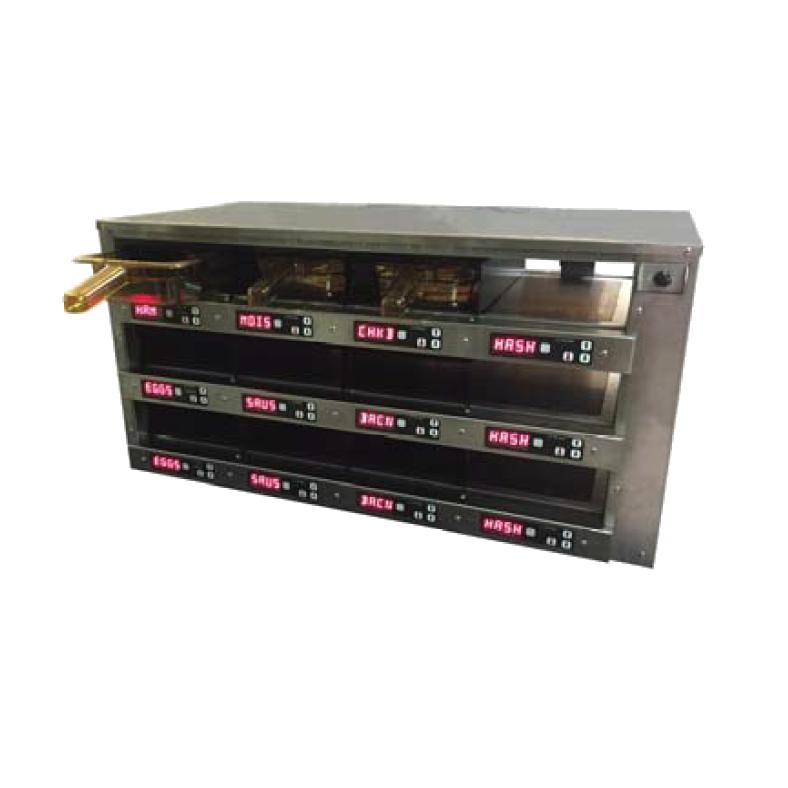 Carter-Hoffmann M343S-2T heated cabinet, countertop