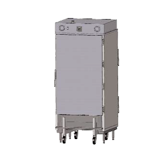 Carter-Hoffmann RTB202S heated cabinet, roll-in
