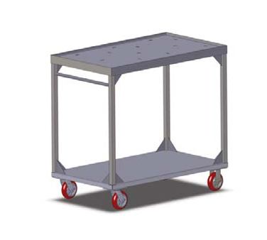 Carter-Hoffmann TT136 cart, tray delivery