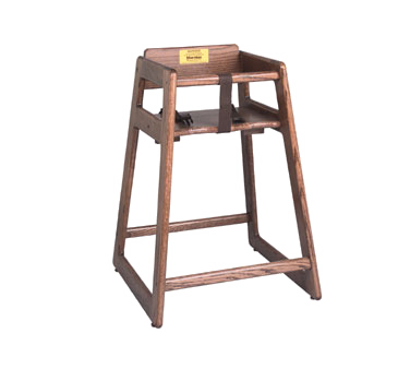 Crown Brands, LLC 1016298 high chair, wood