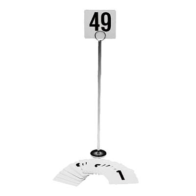 Crown Brands, LLC 4138 menu card holder / number stand