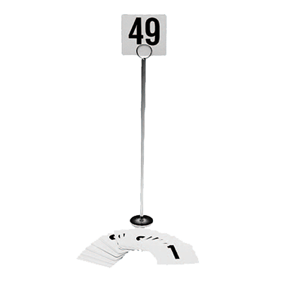 Crown Brands, LLC 9025 table numbers cards