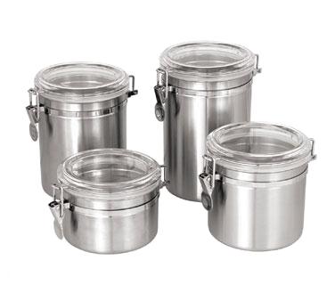Crown Brands, LLC CAN-4AC storage jar / ingredient canister, metal