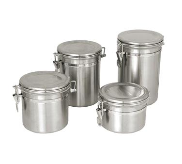 Crown Brands, LLC CAN-4SS storage jar / ingredient canister, metal