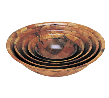 Crown Brands, LLC WSB-18 bowl, wood
