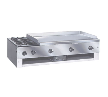 Comstock-Castle 10201 griddle / hotplate, gas, countertop