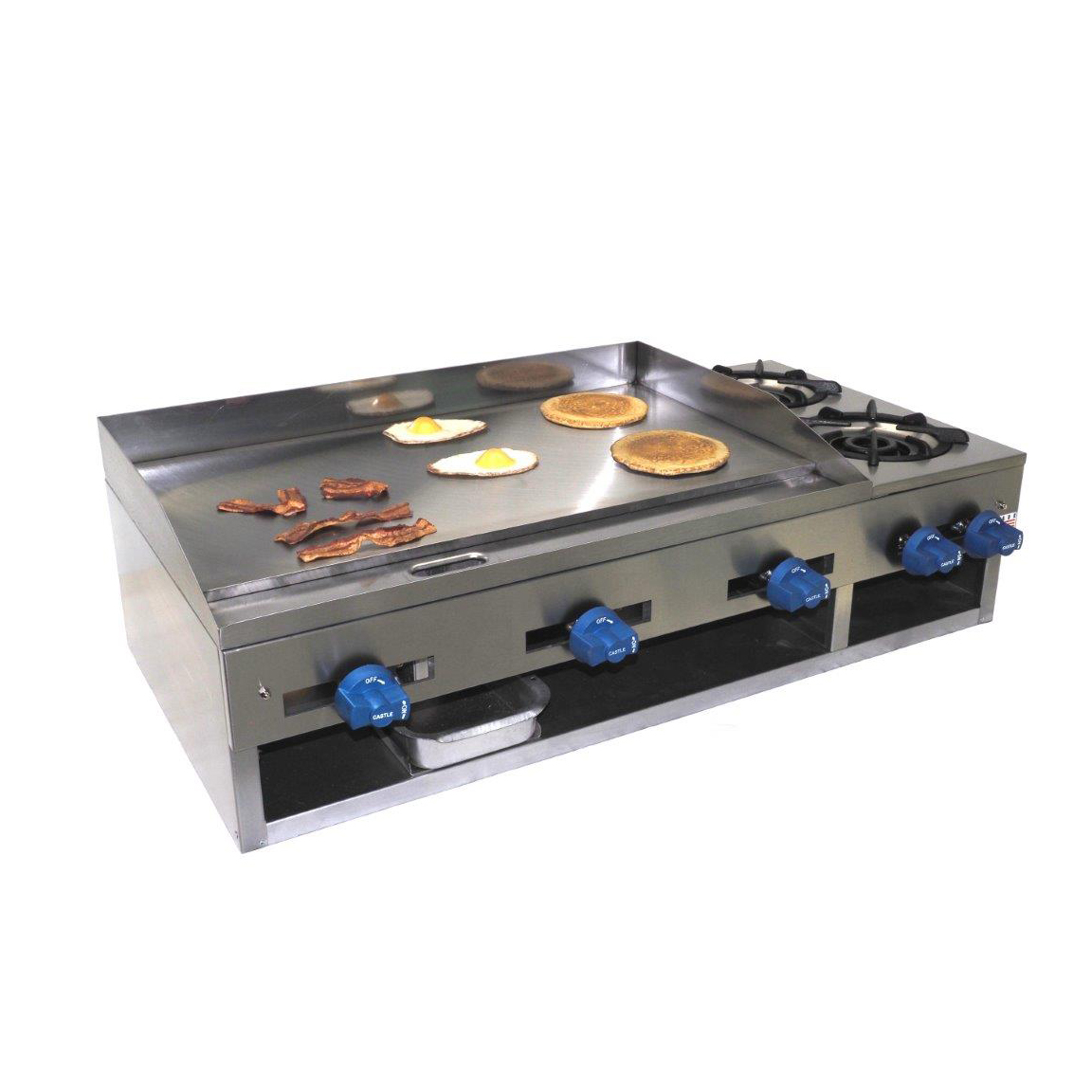 Comstock-Castle 10301 griddle / hotplate, gas, countertop