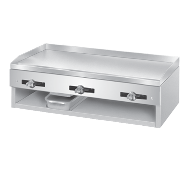 Comstock-Castle 1040 griddle, gas, countertop