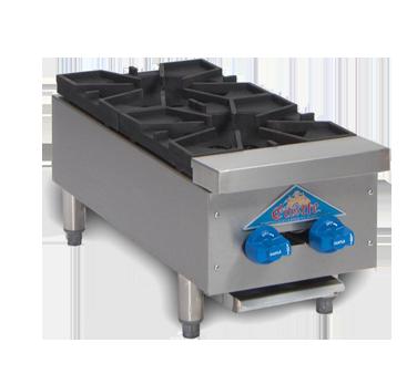 Comstock-Castle 3212OB hotplate, countertop, gas