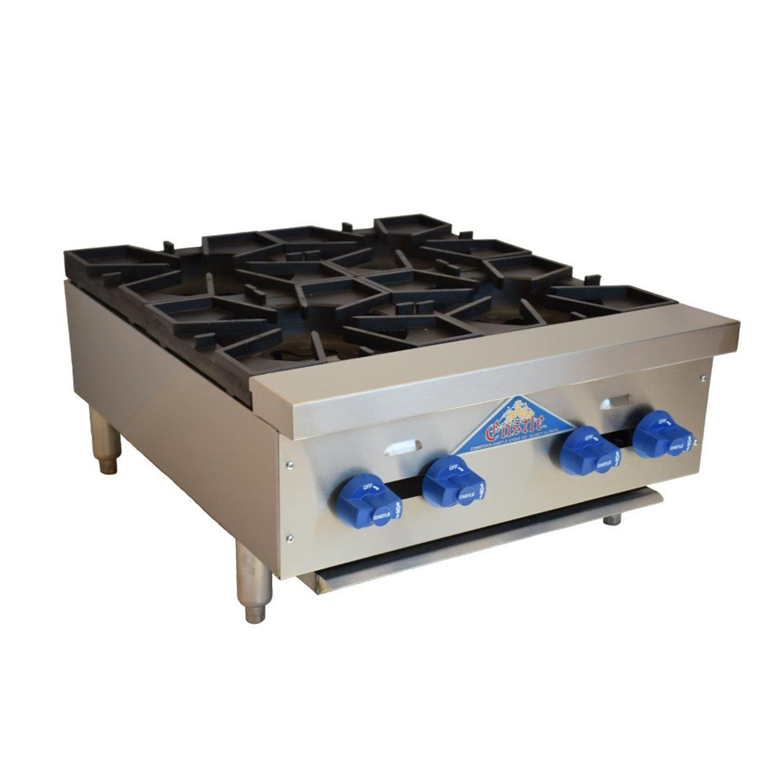 Comstock-Castle 3224OB hotplate, countertop, gas