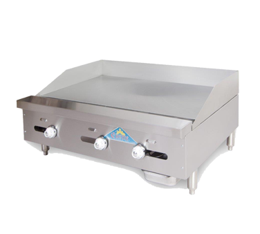Comstock-Castle 3224TG griddle, gas, countertop